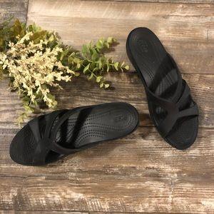 Crocs Slip on sandals ladies 7